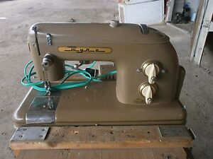 Sewing Machine Portable Case & Footpedal USSR 1960 Vintage Tula