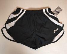 Asics Women's Intensity 1/2 Split Shorts-  Black - Small