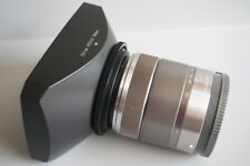 49-58mm Ring + 58mm Lens Hood for Sony E 18-55mm Lens SONY NEX-7 6 5 5N F3 3C