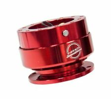 NRG SRK-200RD Ball Lock Steering Wheel Quick Release GEN 2.0 Gloss Red Body &