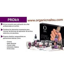 KIT PRO ORGANIC NAILS GRATS DVD