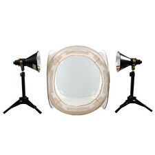 Lumiere L. A. 16 in Photo Cube 4 Color Back Ground 2x 100W 5500K Light Kit