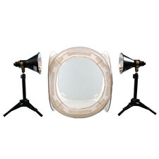 Lumiere L.A. L60262 16 in Photo Cube 4 Color BackGround 2x 100W 5500K Light kit
