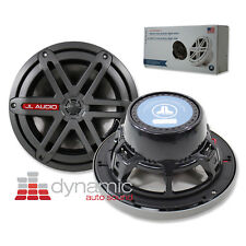 "JL AUDIO MX770-CCX-SG-TB 7.7"" Marine Boat Cockpit Speakers Sports Grille Black"