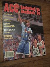 1995-96 ACC COLLEGE BASKETBALL Handbook Yearbook TIM DUNCAN Magazine * UNREAD *
