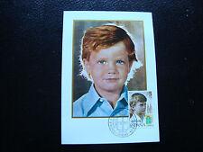 spain - card 1st day 22/12/1977 (2eme choice Card yellowed) (cy24) spain