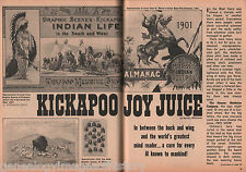Kickapoo Joy Juice-The Carnival Barkers of the Old West