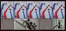 Gran Bretaña 2008 Air Pantallas de tiras de Fine Used.