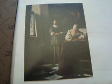 FRANCE - carte johannes vermeer french