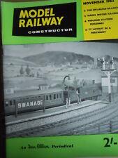 Model Railway Constructor 11 1962