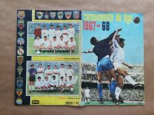 Album disgra 1967 68 Campeonato De Liga + 15 Fichajes  Completo