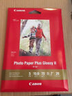 Canon 5x7 Photo Paper Plus Glossy II 20 sheets - BUY MORE THAN 1  SAVE 15