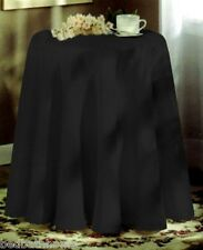 """NEW - Concord 70in Round Tablecloth - Black - BESS Concord 70"""" Round Tablecloth"""