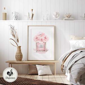 coco chanel, Designer, Fashion, Perfume bottle, designer books, wall art prints