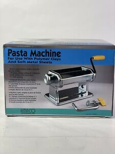 Amaco Pasta Machine For Use With Polymer Clays And Soft Metal  Brand New!!