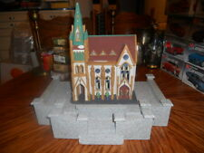 Christmas In The City. Dept56 N.I.B. All Saints Corner Church, W / Base,Look!
