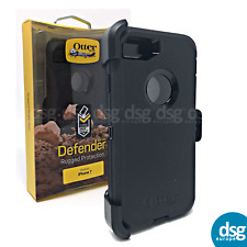 OTTERBOX DEFENDER COVER CASE FOR APPLE IPHONE 7 8 RUGGED HOLSTER BLACK