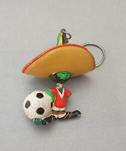 MEXICO 86 FIFA WORLD CUP PVC PIQUE MASCOT MASKOTTCHEN FIGURE MAIA BORGES