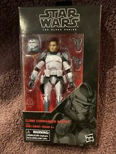 "Hasbro Star Wars The Black Series Clone Commander Wolffe 6"" Figure"