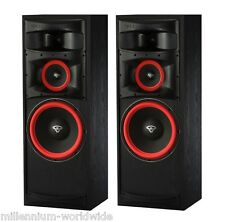 "2 CERWIN VEGA XLS-12 300W SPEAKERS - 12"" WOOFER - 300W HOME THEATER Auth. DEALER"