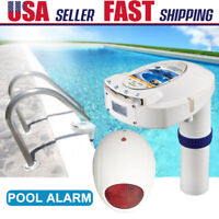 Swimming Inground Pool Safety Alarm System Children Pets Drowning Alert Detector