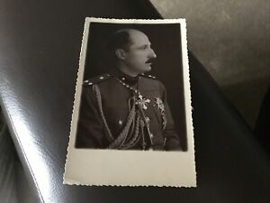 Vintage Postcard - Man In Uniform - Foreign Royalty??? D66
