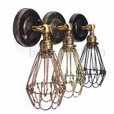 E27 Rétro Rustique Applique Lampe Loft Murale Spot Abat-jour Edison Bulb Ampoule