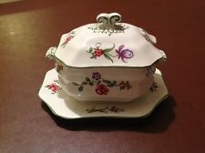 VINTAGE PORCELAIN OCTAGONAL  LIDDED TUREEN - HARRODS LTD. LONDON