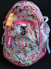 NWT High Sierra Fatboy Backpack Book Bag Girls School Pack Tech Spot Pocket NEW