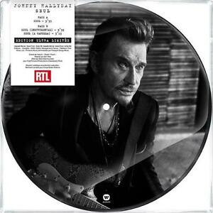 """JOHNNY HALLYDAY SEUL LIMITED 10"""" PICTURE DISC DISQUAIRE DAY"""