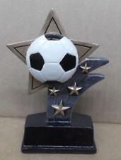 Soccer star full color resin award by Jds
