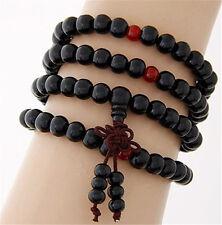 Sandalwood Buddhist Meditation 6mm*108 Prayer Bead Mala Bracelet/Necklace