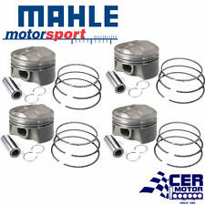 MAHLE EVO367366I10 0.50 FORGED PISTONS, RINGS SET FOR MITSUBISHI 4G63T