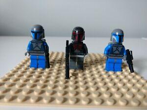 LEGO Star Wars Minifigure LOT Super  Commando , Mandalorian Troopers, Jetpacks
