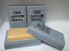 **LOT OF 3**JACQUES BOGART ONE MAN SHOW SOAP WITH DISH 3 1/2 OZ/100 G FOR MEN