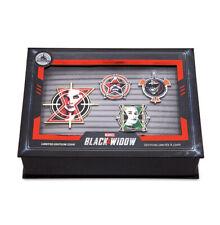Disney Black Widow Limited Edition Pin Set