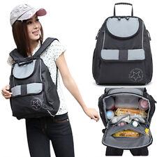 Fashion Waterproof 3pcsBaby Changing Diaper Nappy Mummy Bag Backpack Handbag