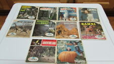 10 View-Master Sets Yellowstone Badlands Yosemite Africa Eskimos Bambi More