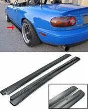 JDM FD Style Side Skirts For 90-97 Mazda Miata MX-5 NA Panels Rocker Extension