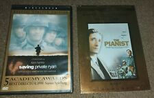 The Pianist (Dvd, 2002, Widescreen) Saving Private Ryan 2 military war movies
