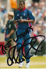 ENGLAND CRICKET HAND SIGNED ALEX TUDOR 6X4 PHOTO 1.