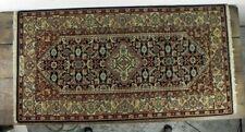 Tappeto in lana annodato a mano persiano usato vintage orientale per da salotto