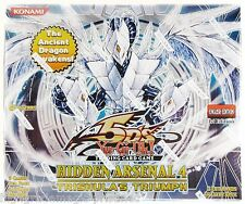 Yugioh Hidden Arsenal 4 Booster Box Case - 1st Edition -