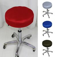 Round Stool Chair Covers Elastic Seat Cover Breathable Home Chairs Slipcover