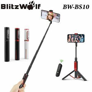 BlitzWolf Bluetooth Universal Phone Remote Control Selfie Stick Tripod Monopod