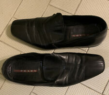 Prada Men's Loafers Size 9 Italy Authentic