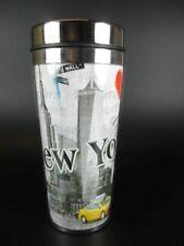 New York Travel Mug Stainless Steel, World Trade Center, Freedom Tower, 17 cm,