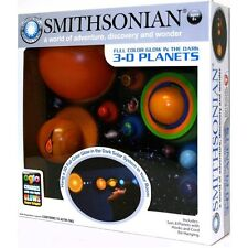 Solar System Mobile Model Kit Kids Hanging Planets 3D Glow In Dark Smithsonian