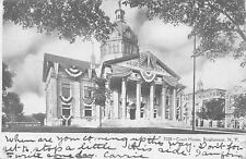 Binghamton NY~4th of July! Courthouse, City Hall Coiffed in Bunting & Flags 1907