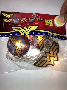 Wonder Woman Super Hero Logo String Lights DC Comic Kid Party Decoration Battery